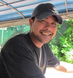 Roland, our trik driver