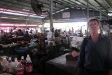 Hugh at Kudat market