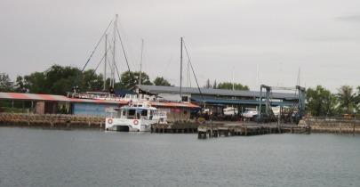 The Penuwasa shipyard