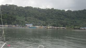 Babalac town, Babalac Island, in the southern Palawan groun