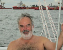 Duncan, the second mate,, arrives on Candeux.
