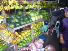 Tempting produce at Labuan market