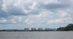 Arriving at Kuching