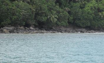 The almost-fateful fateful rocky lee shore