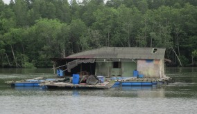 A fisherman's hut