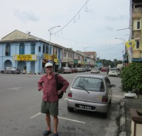 Hugh scouts Port Dickson