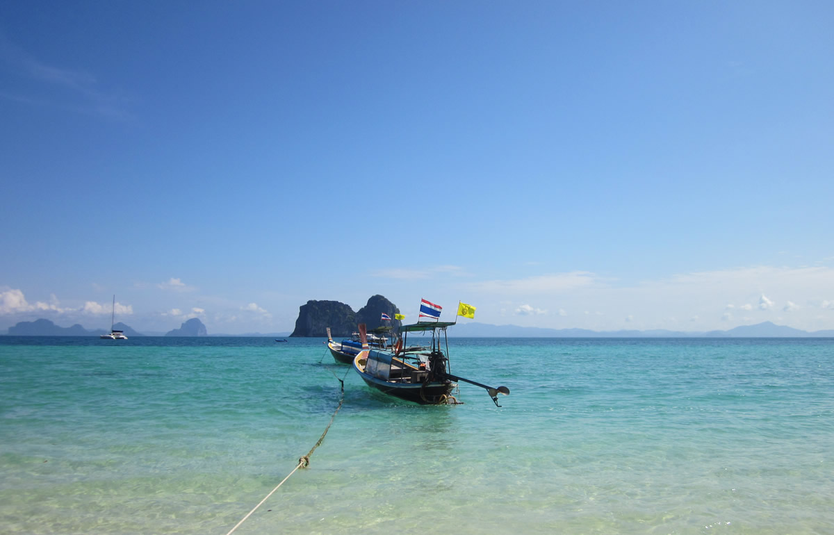Anchored off Ko Ngai