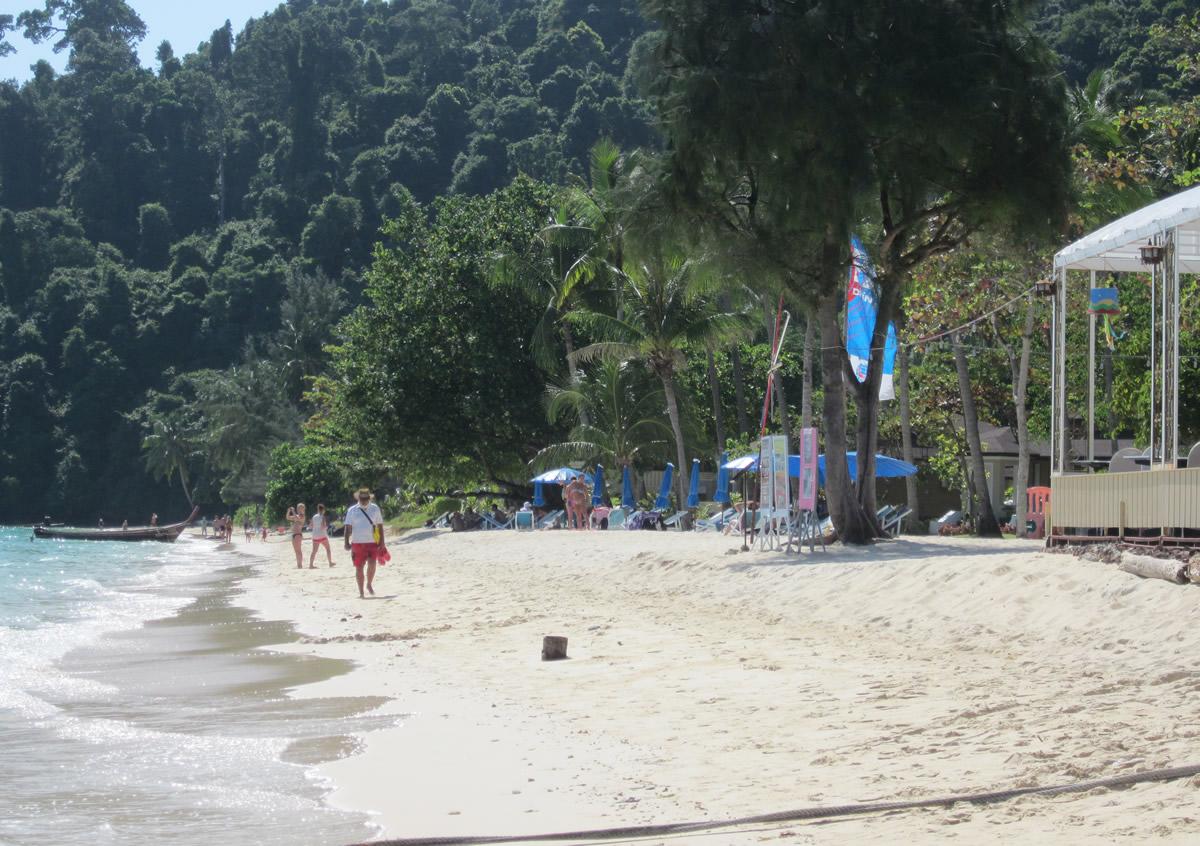 The beach at Ko Ngai