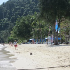 The beach at Ko Ngai