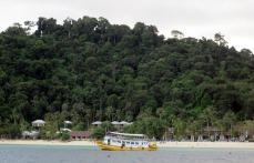 The tourist haven of Ko Ngai